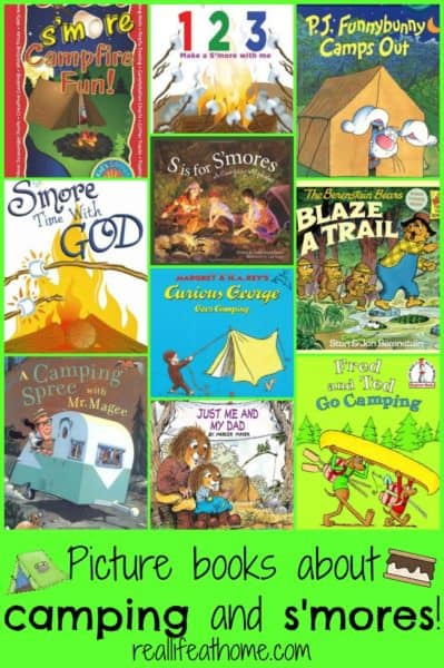 Books about Camping and S'mores | RealLifeAtHome.com