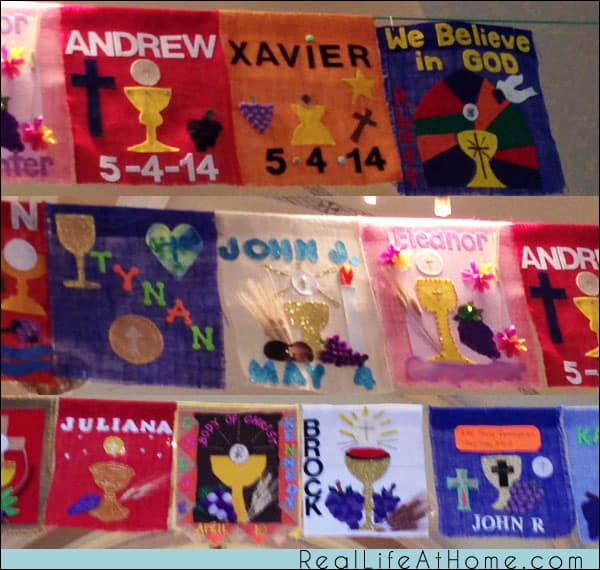 Over 75 Banner Ideas for First Communion