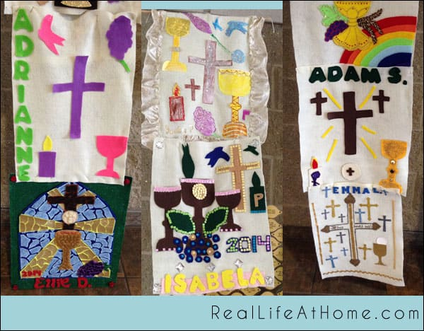 75+ Catholic First Communion Banner Ideas