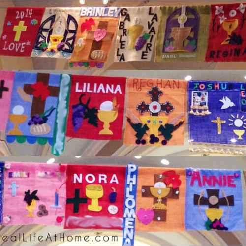 More than 75 Catholic First Holy Communion Banner Ideas
