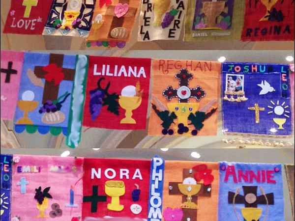 75+ Design Ideas for First Communion Banners