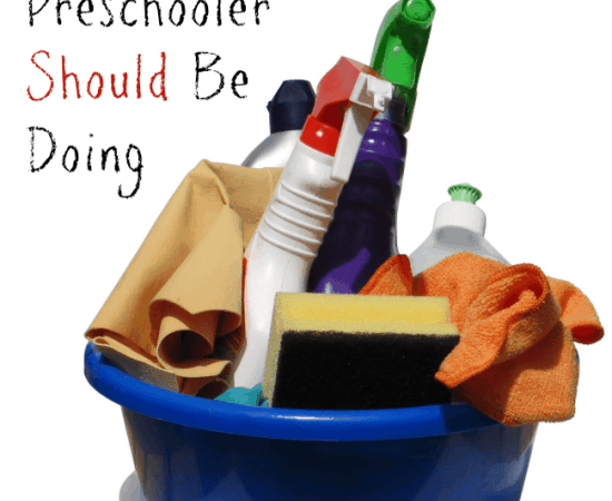 20 Chores Your Preschooler Should Be Doing