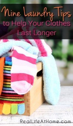 Nine Laundry Tips for Helping Your Clothes Last Longer | RealLifeAtHome.com