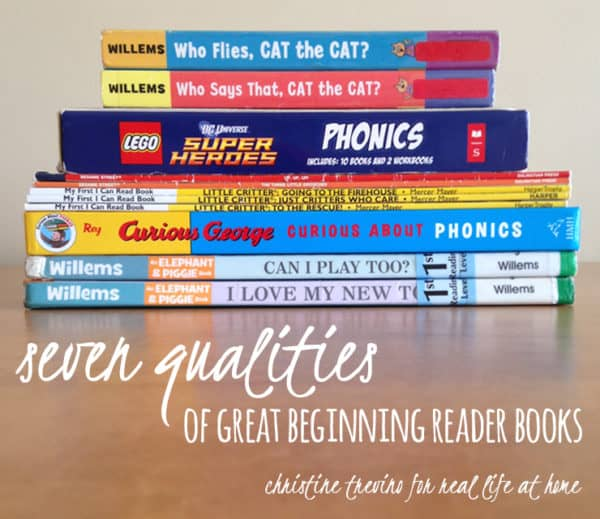 7 Qualities of Great Beginning Reader Books