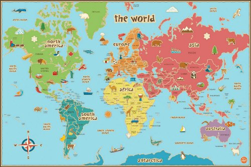 geography games world map