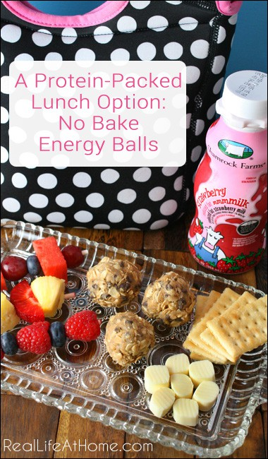 A Protein-Packed Meal Option: No Bake Energy Balls {easy enough that even kids can make them!}