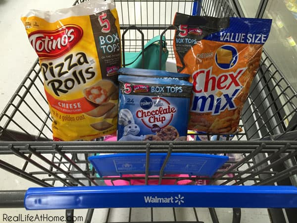 Our Purchases of Bonus Box Tops Products
