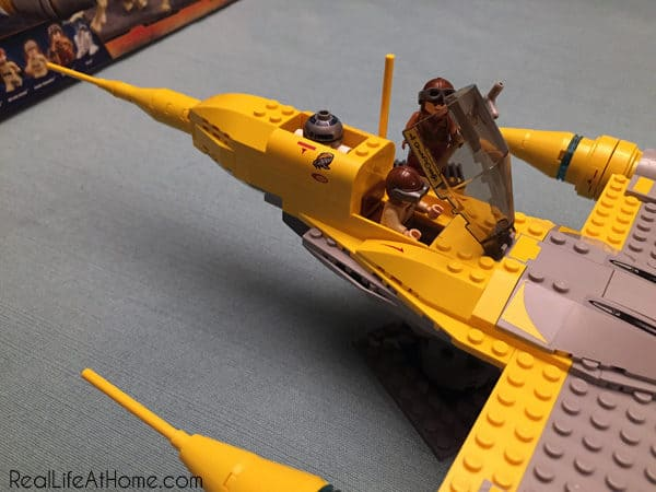 LEGO Star Wars Naboo Starfighter construction set