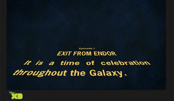 Opening Credit from LEGO Star Wars: Droid Tales