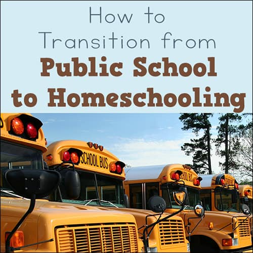 How to Transition from Public School to Homeschool: 10 Do's and Don'ts
