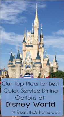 Our Top Picks for Best Quick Service Dining Options at Walt Disney World | RealLifeAtHome.com