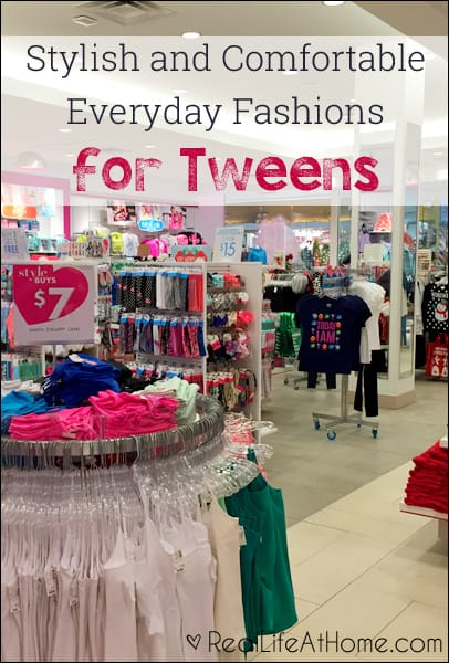Stylish and Comfortable Everyday Fashions for the Tween Girls in Your Life