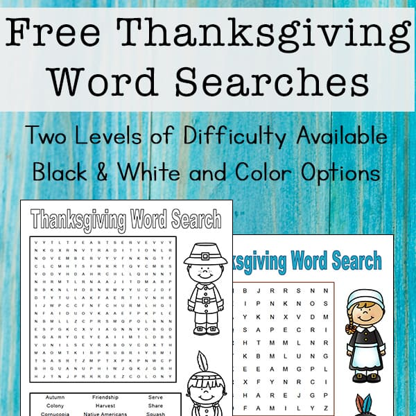 photograph regarding Printable Thanksgiving Word Searches identified as Thanksgiving Phrase Appear for Young children Absolutely free Printables
