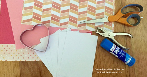 DIY Valentine Cards for Kids - Materials Needed