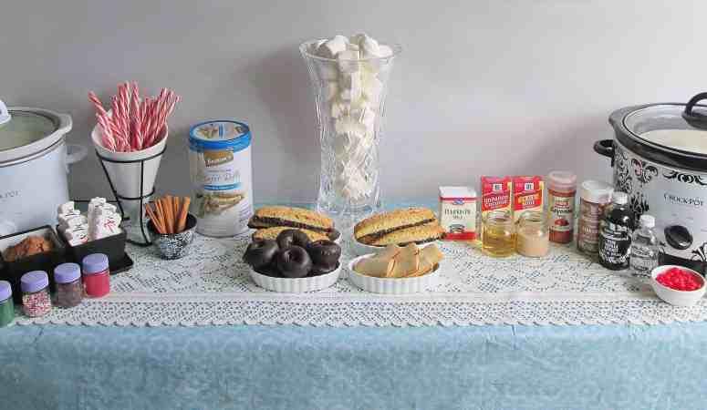 Easy, Beautiful DIY Hot Chocolate Buffet