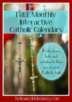 Catholic family calendars