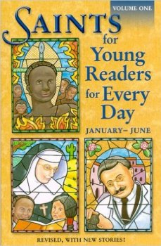 saints for young readers for everyday (january - june) - book