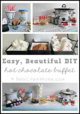 Easy DIY Hot Chocolate Buffet