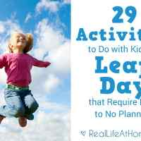 29 Activities to Do with Kids on Leap Day that Require Little to No Planning