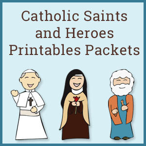 Catholic Saints and Heroes Packets