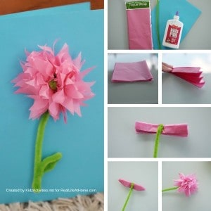 How to Make a 3D Flower Mother's Day Card
