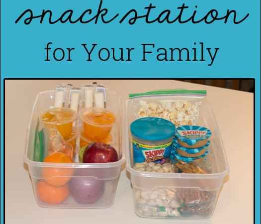 How to Make a Snack Station for Your Family