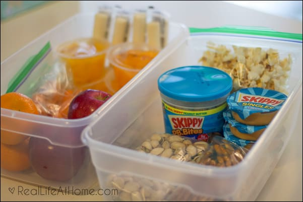 Snack Stations for Your Family