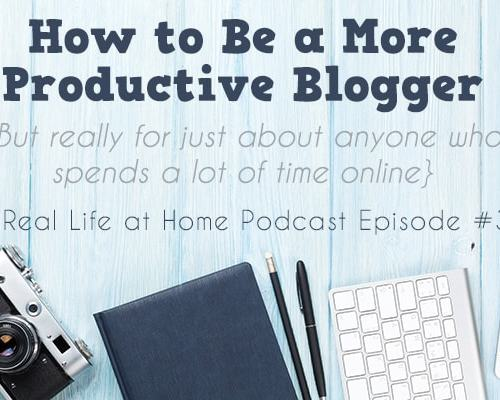 Realistic Tips for How to Be a More Productive Blogger