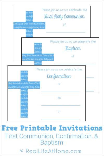 photo regarding First Communion Invitations Free Printable named Very first Communion, Baptism, and Affirmation Invites Cost-free