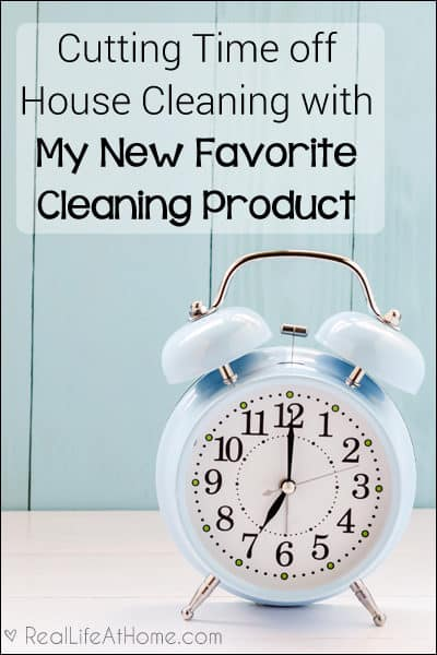 Want to save time on your cleaning routine? Come check out the new product that is saving me time (and scrubbing)!