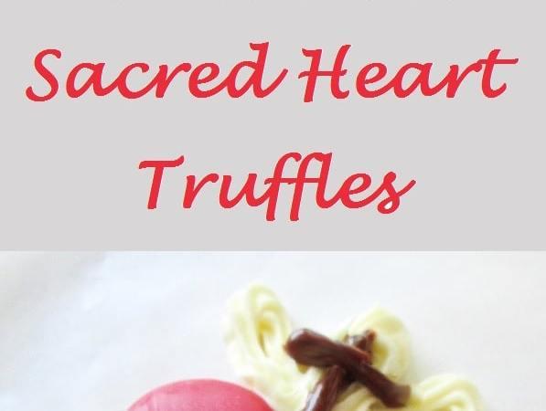 Sacred Heart Oreo Truffles