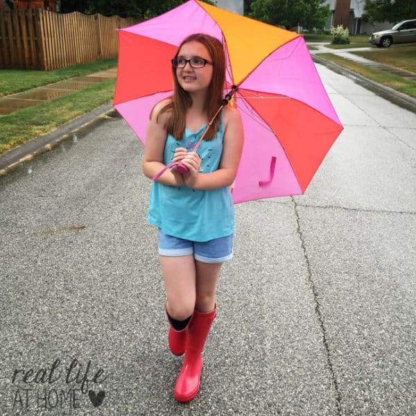 Embracing Simple Family Fun on a Rainy Summer Evening