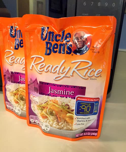 UNCLE BEN'S® READY RICE® makes meals quick and easy!