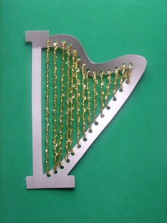 Harp craft for St Cecilia