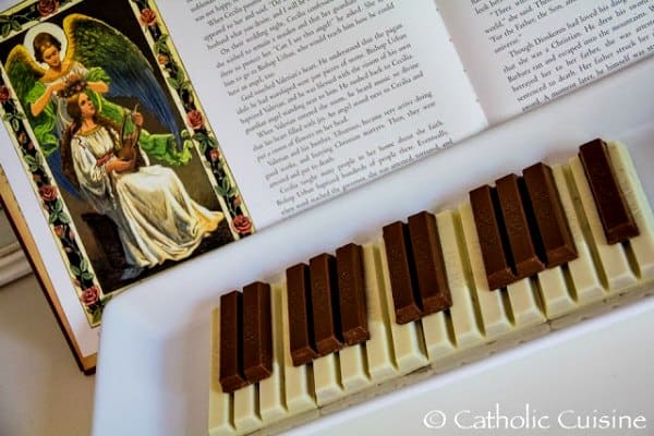 Candy to celebrate St Cecilia