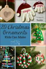 20 Christmas Ornament Crafts for Kids