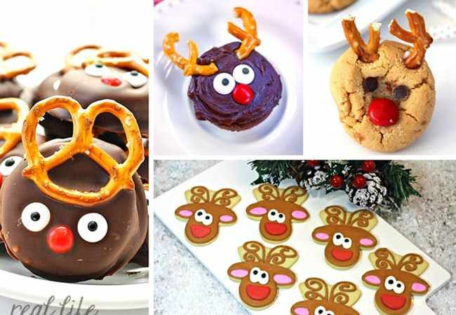 20 Cute and Easy Reindeer Treats for Christmas