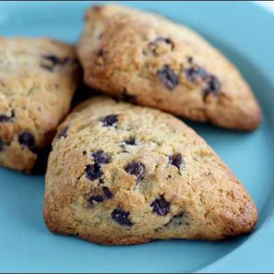 Blueberry Scones from Farm Rich Bakery (found in the freezer section of your favorite store)