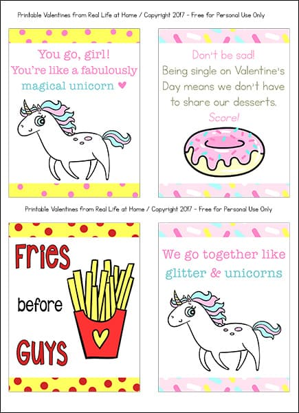 photo about Funny Printable Cards identified as Amusing Printable Valentine Playing cards for Young people and Tweens