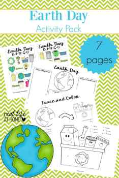 Earth Day Worksheets Packet