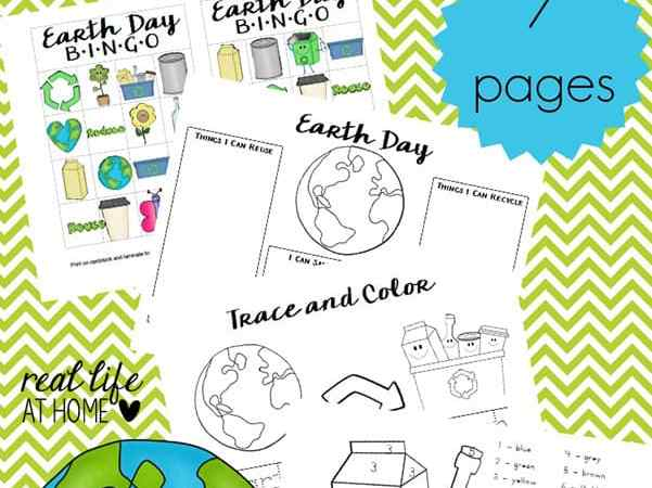 Earth Day Worksheets and Games: Free Earth Day Printables Packet