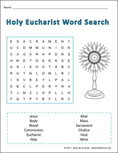 graphic regarding Free Printable Number Search Puzzles known as Holy Communion Term Appear Printable Suitable for To start with