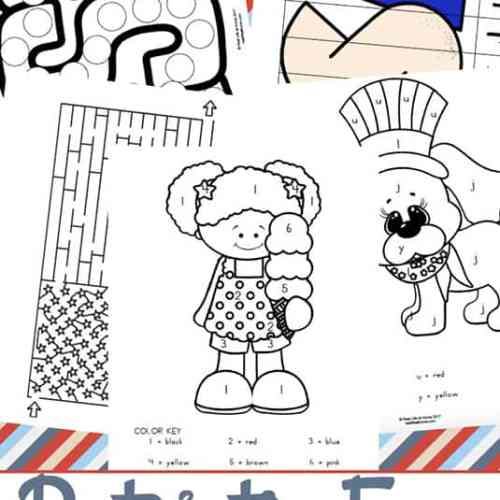 Free Patriotic Printables Packet - Perfect for 4th of July, Memorial Day, Veterans Day, Flag Day, and More