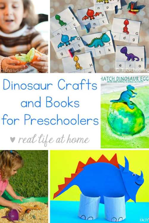 Looking For Easy Dinosaur Crafts Preschoolers Need Some Books Here Is An