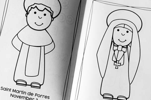 November Saints Coloring Book for Kids | Real Life at Home