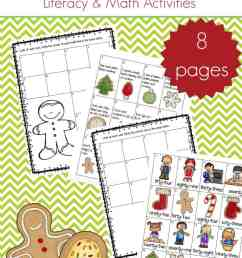 Christmas Language Arts Worksheets Packet for 1st - 3rd Grade [ 1100 x 735 Pixel ]