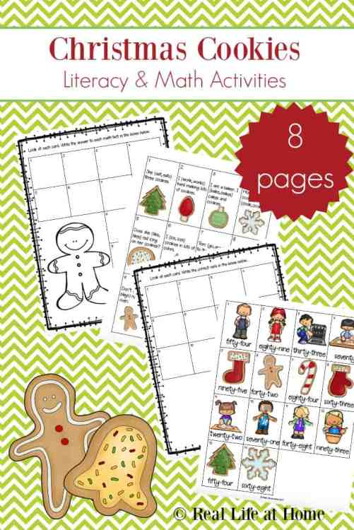 4 free christmas printable activities for elementary literacy and math. Black Bedroom Furniture Sets. Home Design Ideas