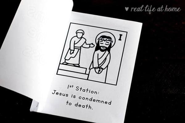 Free Printable Stations Of The Cross For Children
