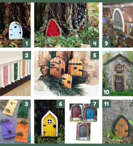 Fairy Doors - Cool Backyard Ideas for Kids