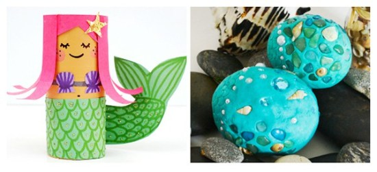 20 Mermaid Crafts Your Kids Will Love | Real Life at Home